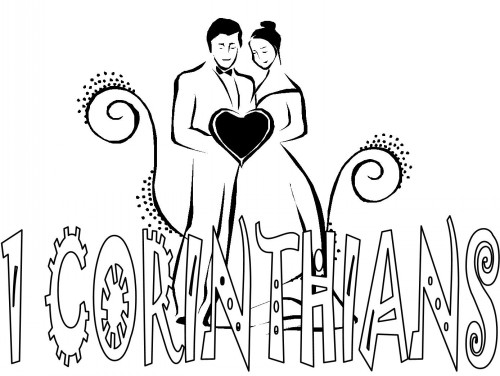Bible Coloring Pages 1 Corinthians Books Of The Bible