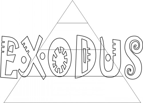 bible coloring pages exodus books of the bible
