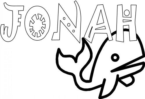 bible coloring pages jonah books of the bible