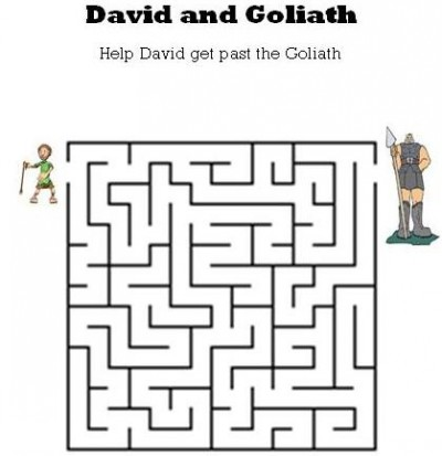 David And Goliath Word Search Puzzle together with David And Goliath ...