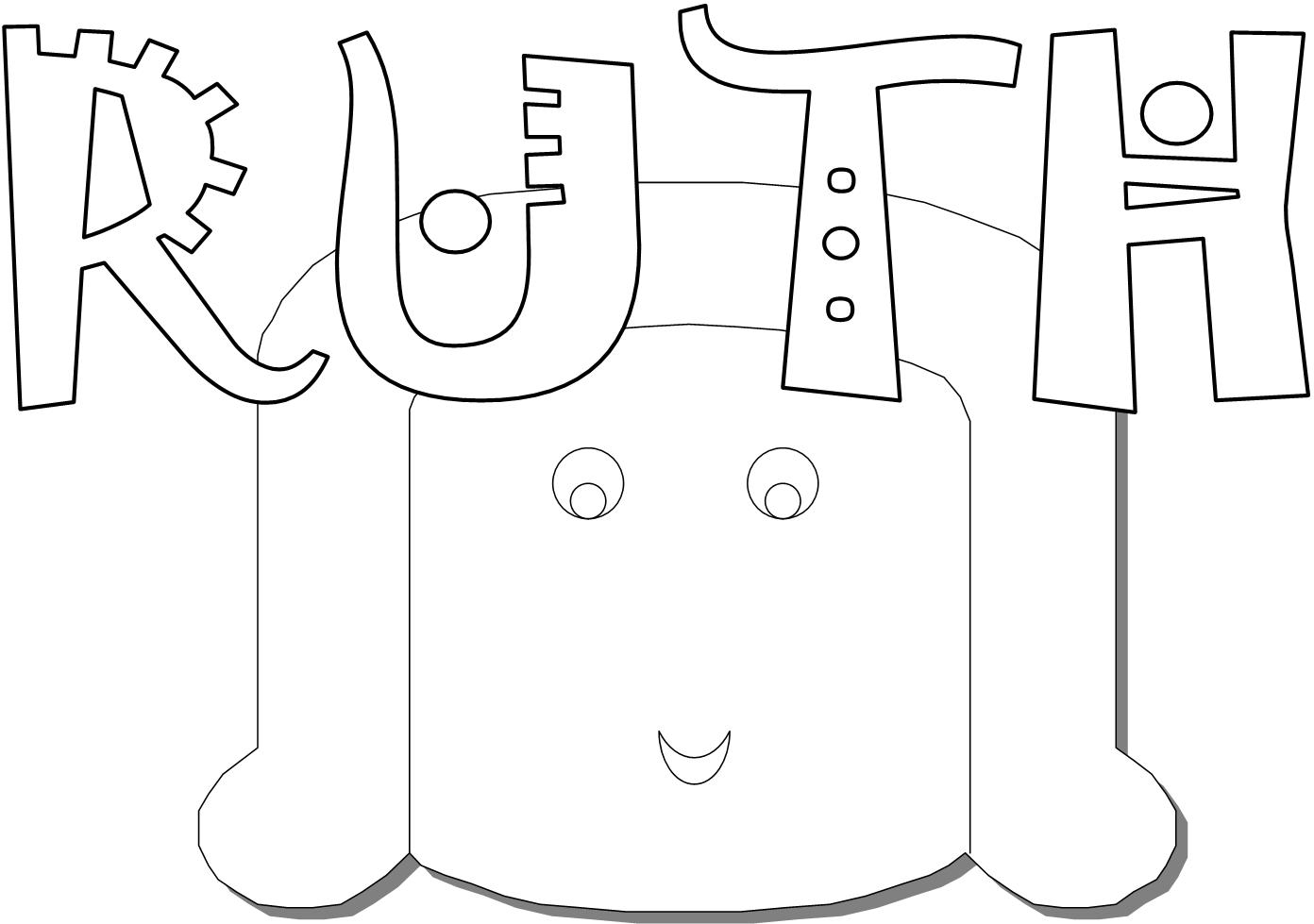 Ruth Coloring Page | Ministry-To-Children | 979x1392
